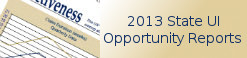 2013 State UI Opportunity Reports